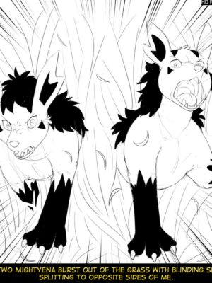 Hildegard's Quest For Aura - Mightyena 011 and Pokemon Comic Porn