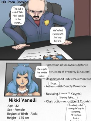Honeypot 004 and Pokemon Comic Porn