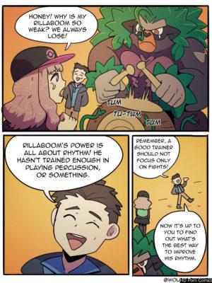 How To Train Your Rillaboom 001 and Pokemon Comic Porn