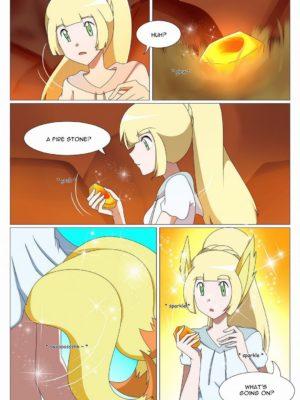 Lillie's Evolution Pokemon Comic Porn