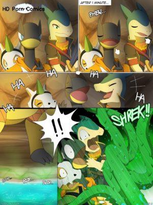 Magic Failure 003 and Pokemon Comic Porn