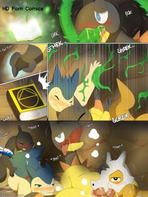 Magic Failure 009 and Pokemon Comic Porn