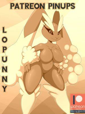 Patreon Pinups - Lopunny 001 and Pokemon Comic Porn