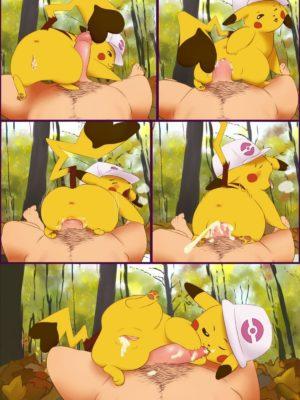 Pikachu Femdom 003 and Pokemon Comic Porn