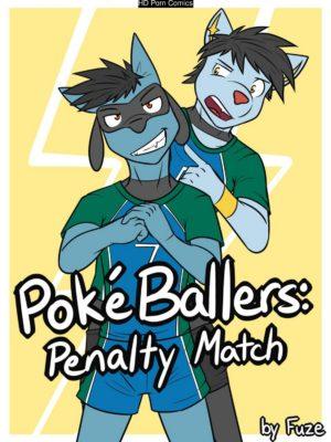 Poke Ballers - Penalty Match 001 and Pokemon Comic Porn