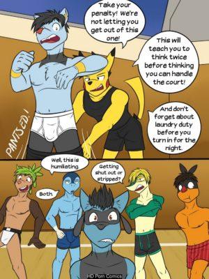 Poke Ballers - Penalty Match 020 and Pokemon Comic Porn