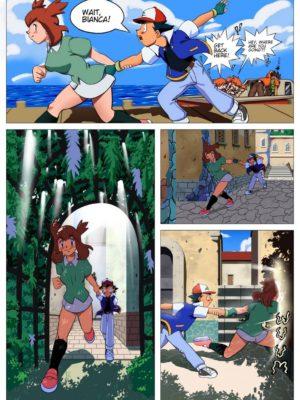 Pokemon - A Hero's Reward 005 and Pokemon Comic Porn