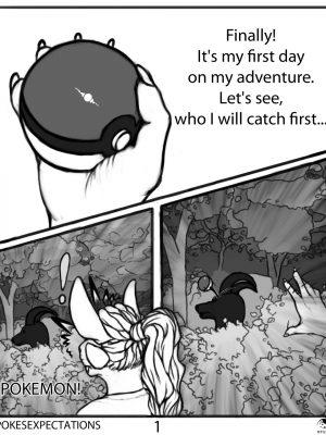Pokesexpectations 001 and Pokemon Comic Porn