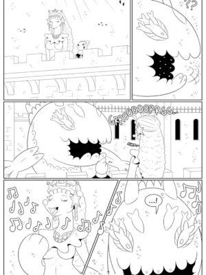 Queen The Primarina 002 and Pokemon Comic Porn