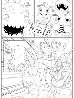 Queen The Primarina 003 and Pokemon Comic Porn