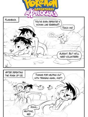 SeXpilogues 005 and Pokemon Comic Porn