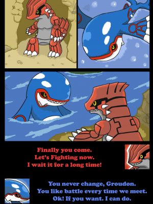Tale Of Researcher 1 – Ocean And Continent Pokemon Comic Porn