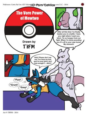 The Vore Power Of Mewtwo Pokemon Comic Porn